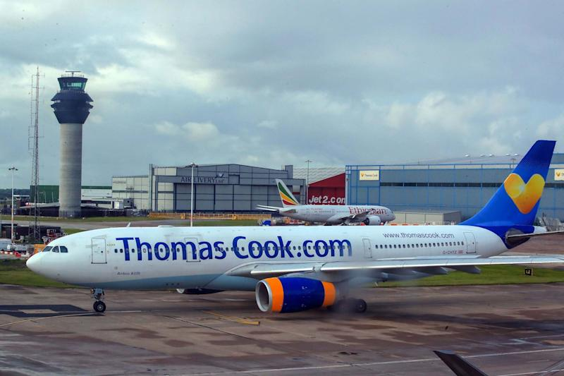 Thomas Cook is seeking £200 million in extra funding as it attempts to prevent a collapse: PA