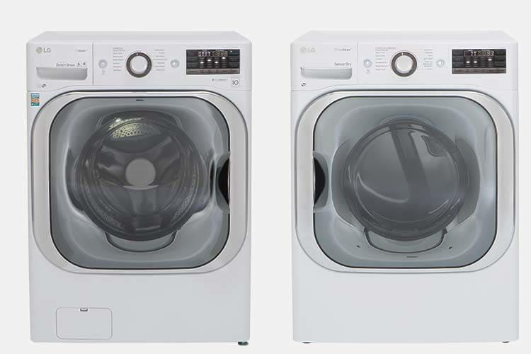 lg wm8100hwa frontloader and lg dlex8100w electric dryer price washer dryer hereu0027s the deal the claimed capacity is 52 cubic