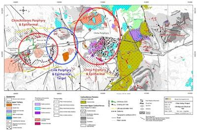 Figure 1: Chinchillones Porphyry & Epithermal target view to the south (CNW Group/Minsud Resources Corp.)