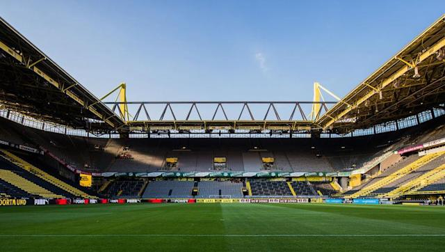 """<p><strong>Average attendance: 78,813</strong></p> <p>Stadium capacity: 81,360</p> <p>Occupancy rate: 97%</p> <br><p>The Signal Iduna Park, or Westfalenstadion, has the honour of having the highest average attendance across the whole of Europe. Borussia Dortmund's loyal group of fans regularly create the """"Yellow Wall"""" as the Bundesliga side almost scare off opponents before a ball has been kicked.</p>"""