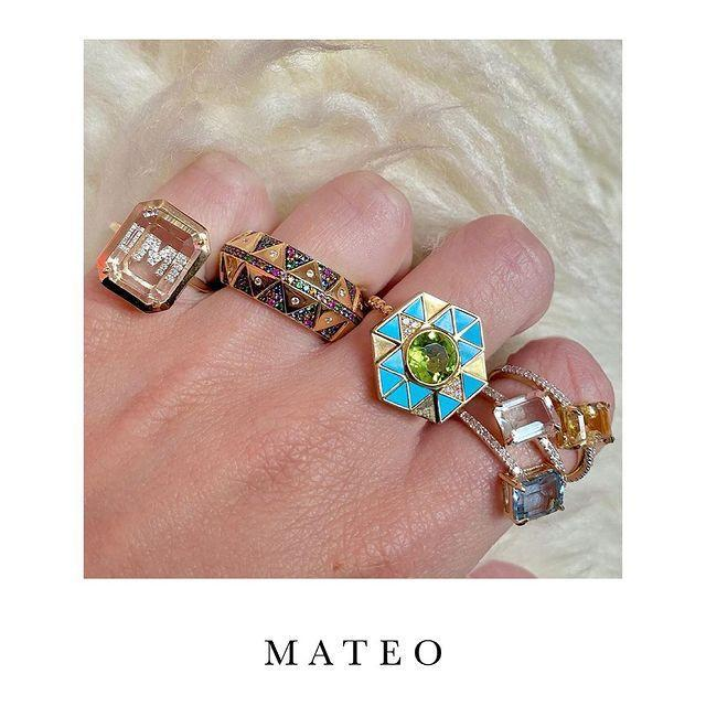 """<p>Worn by the likes of Rihanna and Bella Hadid, Mateo is the coolest jewellery brand you are yet to hear about.</p><p><a class=""""link rapid-noclick-resp"""" href=""""https://go.redirectingat.com?id=127X1599956&url=https%3A%2F%2Fwww.net-a-porter.com%2Fen-gb%2Fshop%2Fdesigner%2Fmateo&sref=https%3A%2F%2Fwww.elle.com%2Fuk%2Ffashion%2Fg36448338%2Fjewellery-brands%2F"""" rel=""""nofollow noopener"""" target=""""_blank"""" data-ylk=""""slk:SHOP MATEO NOW"""">SHOP MATEO NOW</a></p><p><a href=""""https://www.instagram.com/p/COn6_KShjGi/"""" rel=""""nofollow noopener"""" target=""""_blank"""" data-ylk=""""slk:See the original post on Instagram"""" class=""""link rapid-noclick-resp"""">See the original post on Instagram</a></p>"""