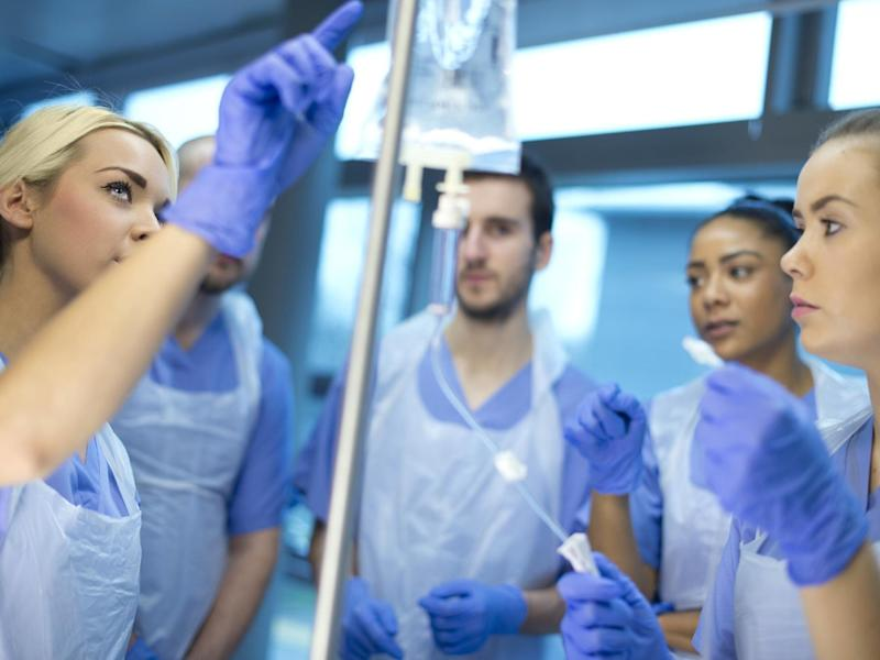 Ministers are to introduce thousands more nursing apprenticeships to the NHS: iStock