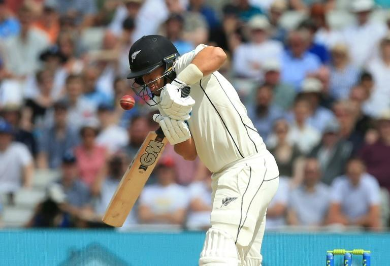 Good innings - New Zealand's Ross Taylor on his way to 80 in the second Test against England at Edgbaston on Saturday