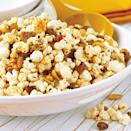 <p>Taco seasoning mix gives this fruit and nut popcorn snack south-of-the-border sizzle.</p>