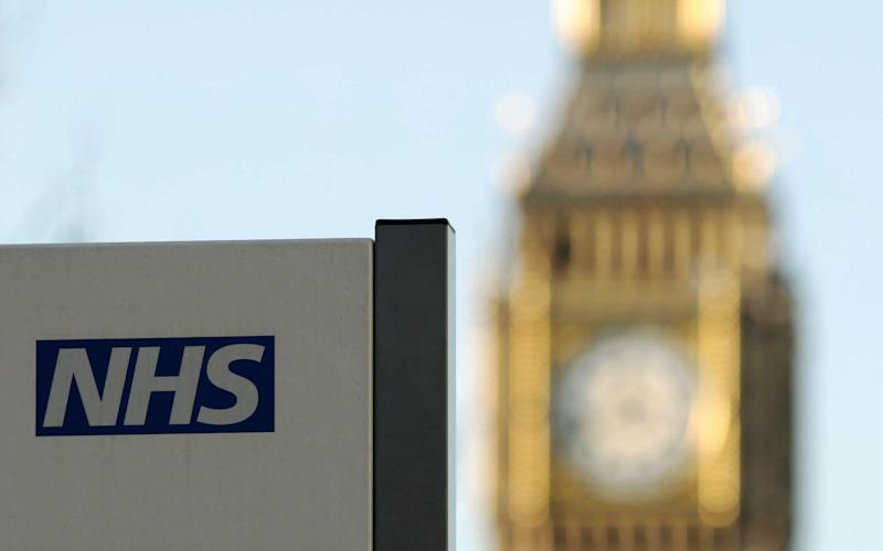 The report said there is 'no more room' in existing budgets to give more money to the NHS - PA