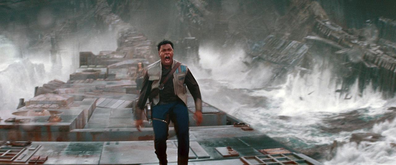 """<p>If you're taking your kids to see <strong>The Rise of Skywalker</strong> in theaters, know that from the text intro disappears into the starry sky there's loud noises and music, as well as flashing lights - and it all moves at (pun intended) light speed. If you have children who don't fare well with sensory overload, taking them to see <strong>Episode IX</strong> in theaters could be a lot for them to handle. As mentioned above, this movie is 90 percent go, go, go action, so let's just say that there aren't a lot of moments where it lets up and the characters are able to sit and have a slow tea break together.</p> <div class=""""related-stories clearfix"""">     <div class=""""related-header"""">Related:</div>              <a href=""""https://www.popsugar.com/entertainment/reactions-to-star-wars-rise-skywalker-47026692""""            class=""""related-link related-link-with-image """"                                         >             <div class=""""related-poster"""">                                     <img  alt=""""Reactions to Star Wars: The Rise of Skywalker"""" class=""""image smallsquare"""" width=""""75"""" height=""""75"""" src=""""https://media1.popsugar-assets.com/files/thumbor/8DDF47zMkqWhprhh8DLNLg5ormU/500x0:2501x2001/fit-in/75x75/filters:format_auto-!!-:strip_icc-!!-:sharpen-!1,0,true!-/2019/12/17/870/n/44498184/0ef0031e5df9321db9a495.73823002_/i/reactions-to-star-wars-rise-skywalker.jpg"""" title=""""Reactions to Star Wars: The Rise of Skywalker"""" />                             </div>              The First Reactions to Star Wars: The Rise of Skywalker Are Shockingly Divided         </a>     </div>"""