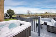 """<p>Sit back, relax and take in the views of the countryside with your four-legged friend at this pretty cottage with a spa-style garden in Chatton. Dogs are welcome here and your pooch will adore exploring the garden and snuggling in the comfy living room. You'll find an array of hotel-style luxuries too, such as the toiletries, robes and slippers and a Nespresso coffee machine.</p><p><strong>Sleeps: </strong>Two</p><p><a class=""""link rapid-noclick-resp"""" href=""""https://airbnb.pvxt.net/n1n7W6"""" rel=""""nofollow noopener"""" target=""""_blank"""" data-ylk=""""slk:SEE INSIDE"""">SEE INSIDE</a></p>"""