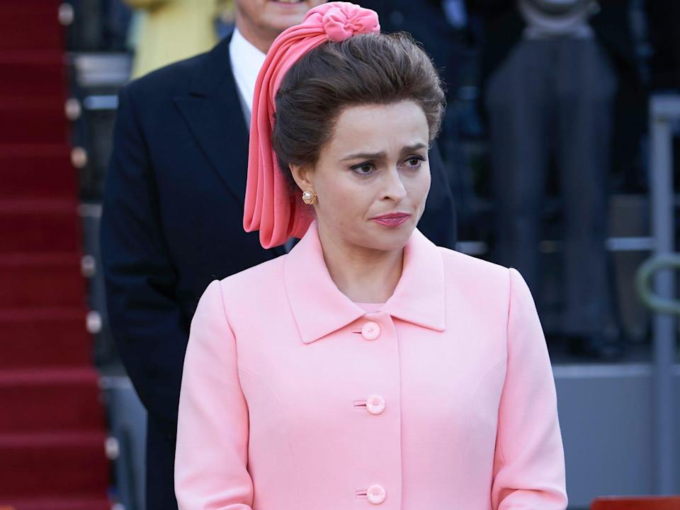Marion Bailey, Helena Bonham Carter the crown season 3