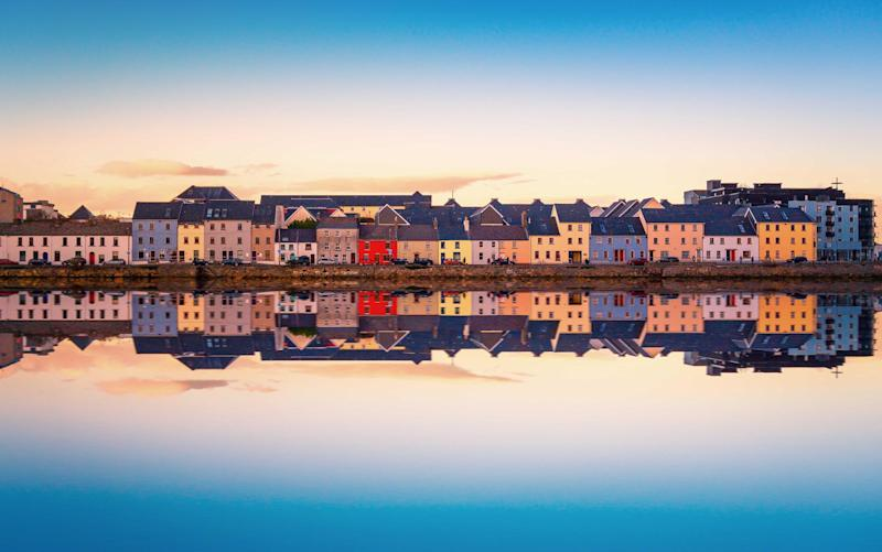 The Claddagh, once an ancient fishing village, in Galway - iStock