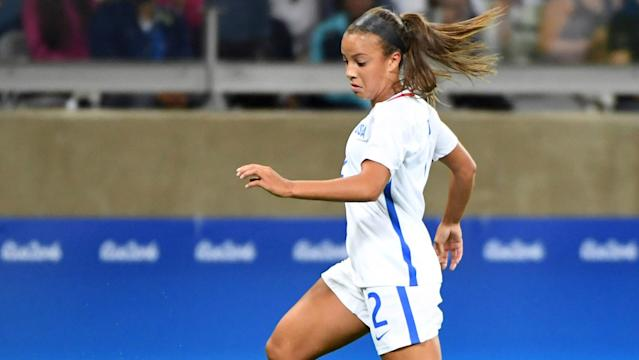 Three goals early in the second half saw the USWNT roll to a comfortable win over Mexico