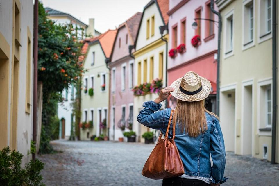 The pretty old town architecture makes Olomouc a pleasure to wander (Getty Images/iStockphoto)