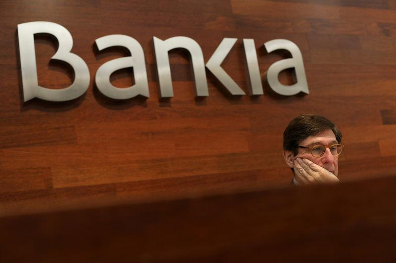 FILE PHOTO: Spain's Bankia Chairman Goirigolzarri attends a news conference in Madrid