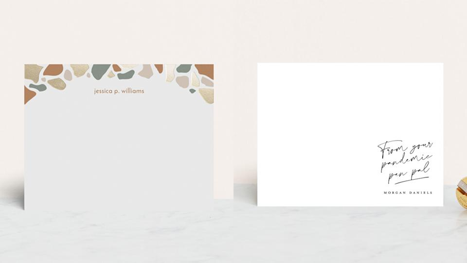 Best gifts for grandma: Minted personalized stationery