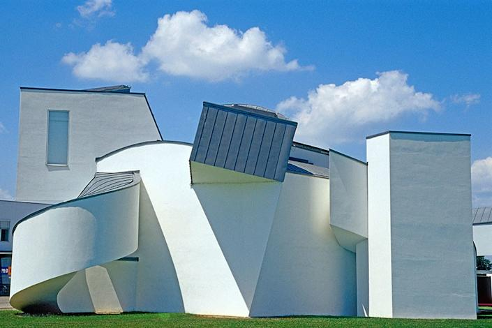 The Vitra Design Museum in Germany.
