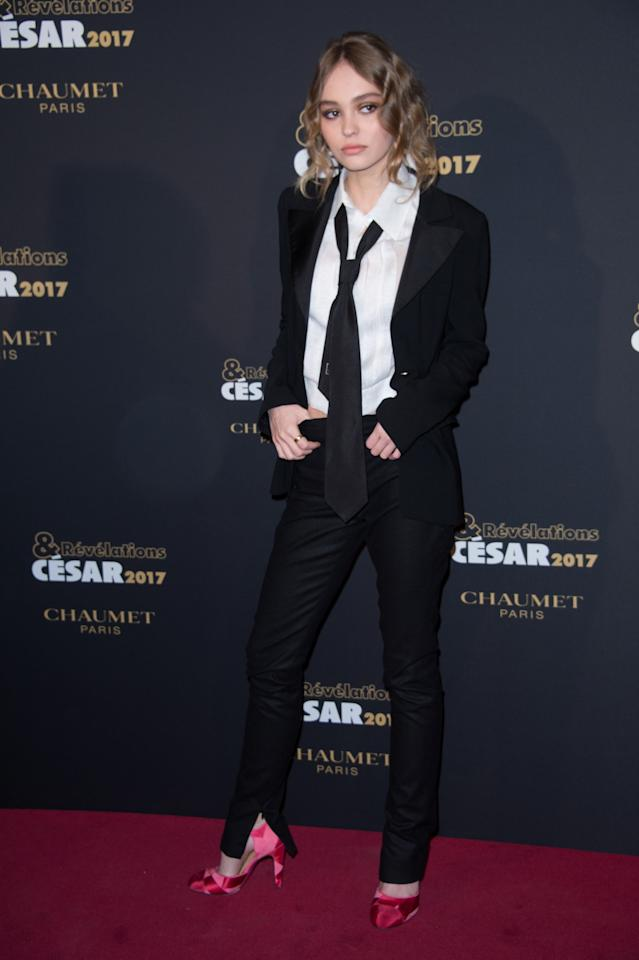 <p>Wearing Chanel. <em>[Photo: Getty]</em> </p>