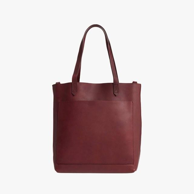 Madewell medium leather transport tote, $158, nordstrom.com.