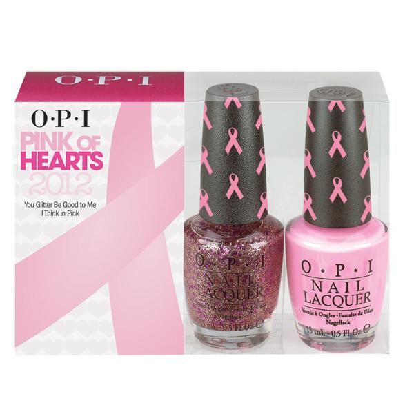 """<b>Pink of Hearts Collection - £11 each – OPI</b><br><br>OPI has developed a limited edition Pink of Hearts line for Breast Cancer Awareness Month, featuring a Breast Cancer Duo pack and Pink Shatter top coat, with £2 from every set going to <a href=""""http://www.coppafeel.org/"""" rel=""""nofollow noopener"""" target=""""_blank"""" data-ylk=""""slk:Coppa Feel!"""" class=""""link rapid-noclick-resp"""">Coppa Feel!</a><br><br>Available to buy from <a href=""""http://www.lenawhite.co.uk/store/facts"""" rel=""""nofollow noopener"""" target=""""_blank"""" data-ylk=""""slk:Lena White"""" class=""""link rapid-noclick-resp"""">Lena White</a>, <a href=""""http://www.beautybay.com/nailcare/opi/pinkofheartsshatter/"""" rel=""""nofollow noopener"""" target=""""_blank"""" data-ylk=""""slk:BeautyBay.com"""" class=""""link rapid-noclick-resp"""">BeautyBay.com</a> and <a href=""""http://www.chemistdirect.co.uk/opi-pink-of-hearts-shatter-for-breast-cancer-awareness_1_178242.html"""" rel=""""nofollow noopener"""" target=""""_blank"""" data-ylk=""""slk:ChemistDirect.com"""" class=""""link rapid-noclick-resp"""">ChemistDirect.com</a>.<br>"""