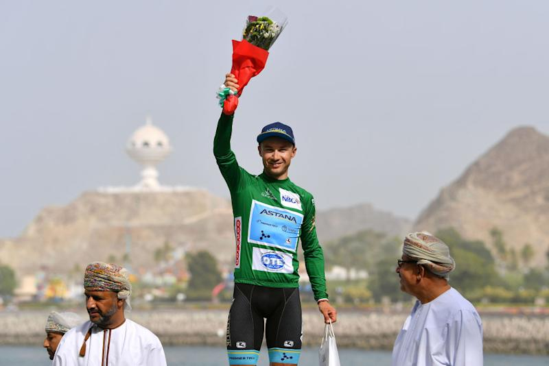 Alexey Lutsenko at the 2019 Tour of Oman