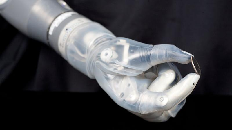 Robotic Arm Aims to 'Repay Some of the Debt' to Wounded Warriors