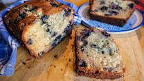 """<p>Looking for a great <a href=""""https://www.thedailymeal.com/cook/banana-bread-homemade-recipes?referrer=yahoo&category=beauty_food&include_utm=1&utm_medium=referral&utm_source=yahoo&utm_campaign=feed"""" rel=""""nofollow noopener"""" target=""""_blank"""" data-ylk=""""slk:banana bread recipe"""" class=""""link rapid-noclick-resp"""">banana bread recipe</a>? This recipe will become your go-to. This bread adds blueberries and white chocolate, which give extra sweetness and texture to your everyday banana bread.</p> <p><a href=""""https://www.thedailymeal.com/ultimate-banana-bread-recipe?referrer=yahoo&category=beauty_food&include_utm=1&utm_medium=referral&utm_source=yahoo&utm_campaign=feed"""" rel=""""nofollow noopener"""" target=""""_blank"""" data-ylk=""""slk:For the White Chocolate Blueberry Banana Bread recipe, click here."""" class=""""link rapid-noclick-resp"""">For the White Chocolate Blueberry Banana Bread recipe, click here.</a></p>"""