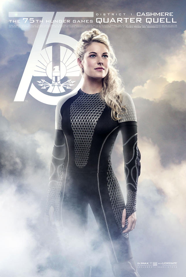 "Stephanie Leigh Schlund as Cashmere in Lionsgate's ""The Hunger Games: Catching Fire"" - 2013"