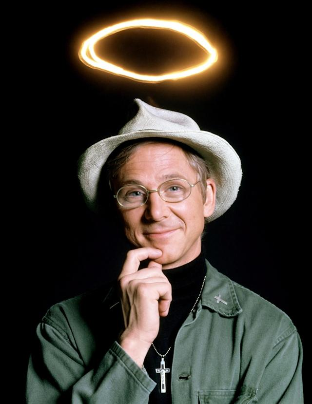 "<p>William Christopher, best known as ""Father Mulcahey in the long running hit show M.A.S.H. died on December 31, 2016. — (Pictured)–William Christohper as his charachter ""Father Mulcahey"" in a promo shoot for the TV show, M.A.S.H., 1972-83. (©20th Century Fox Film Corp. All rights reserved./courtesy Everett Collection) </p>"