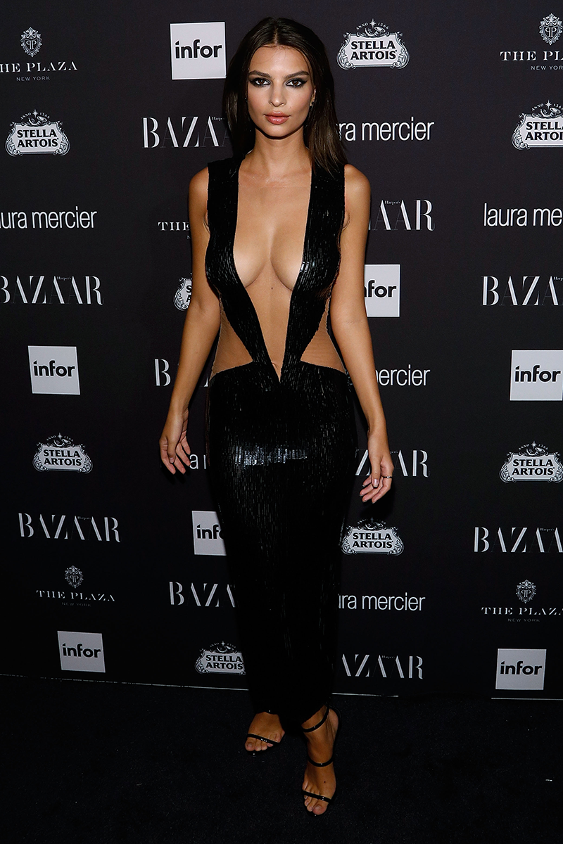 <p>At the Harper's BAZAAR Icons Party, 2016</p>
