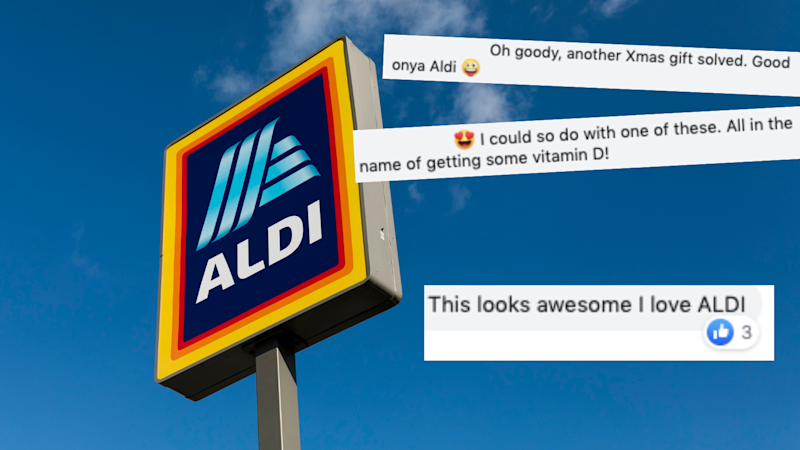 (Source: Getty, Facebook/Aldi Australia)