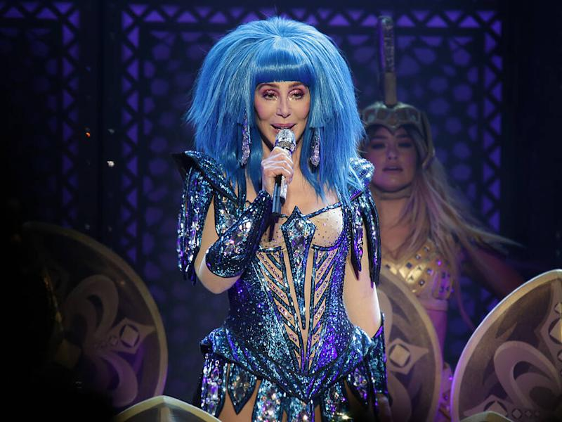 Cher recalls shock reaction to her first 'naked dress'