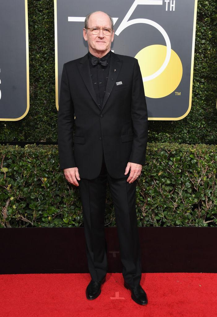 <p>The <em>Shape of Water</em> actor, nominated for Best Movie Actor in a Supporting Role, attends the 75th Annual Golden Globe Awards at the Beverly Hilton Hotel in Beverly Hills, Calif., on Jan. 7, 2018. (Photo: Steve Granitz/WireImage) </p>