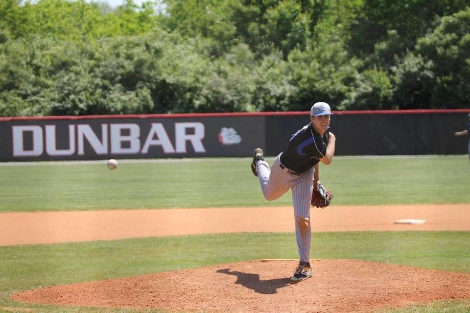 Danville's Ethan Wood, a Louisville commit, got the loss against St. Xavier to bring his record to 4-1 with a 1.88 ERA.