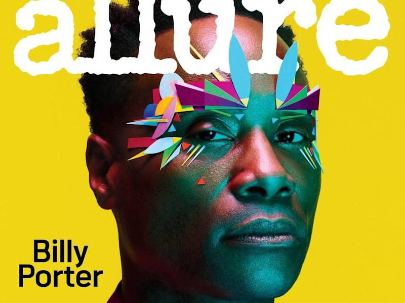 Billy Porter makes history as Allure magazine's first male cover star