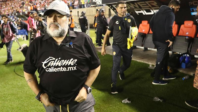 Argentinian Football Legend Maradona Successfully Undergoes Knee Surgery After Quitting as Dorados Coach