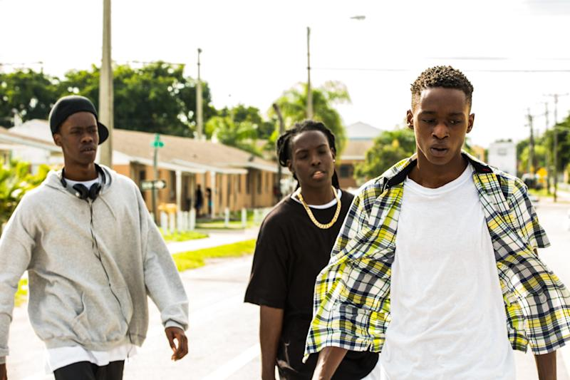 Teenage Chiron faces bully troubles in 'Moonlight' (Credit: Altitude)