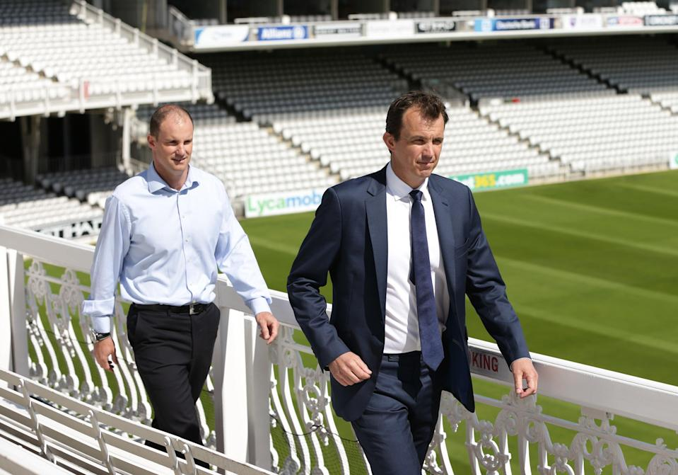 ECB chief executive Tom Harrison, right, has insisted The Hundred will go ahead (PA Archive)