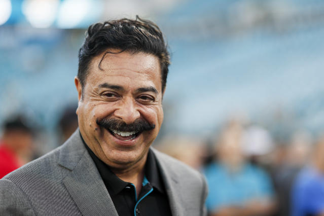 Jacksonville Jaguars owner Shad Khan has a foothold in London. (Photo by James Gilbert/Getty Images)