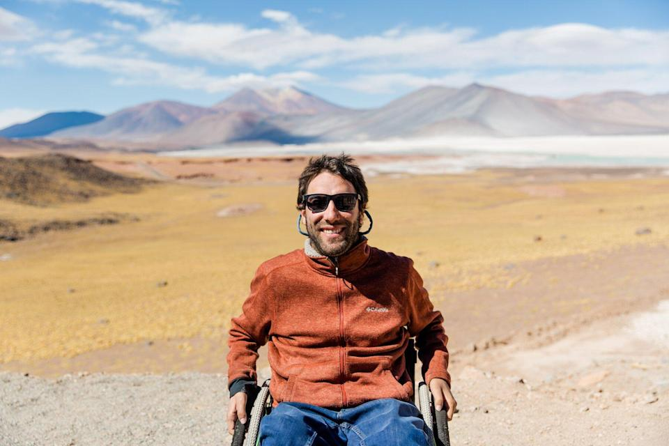 Founder and CEO Alvaro Silberstein of Wheel the World