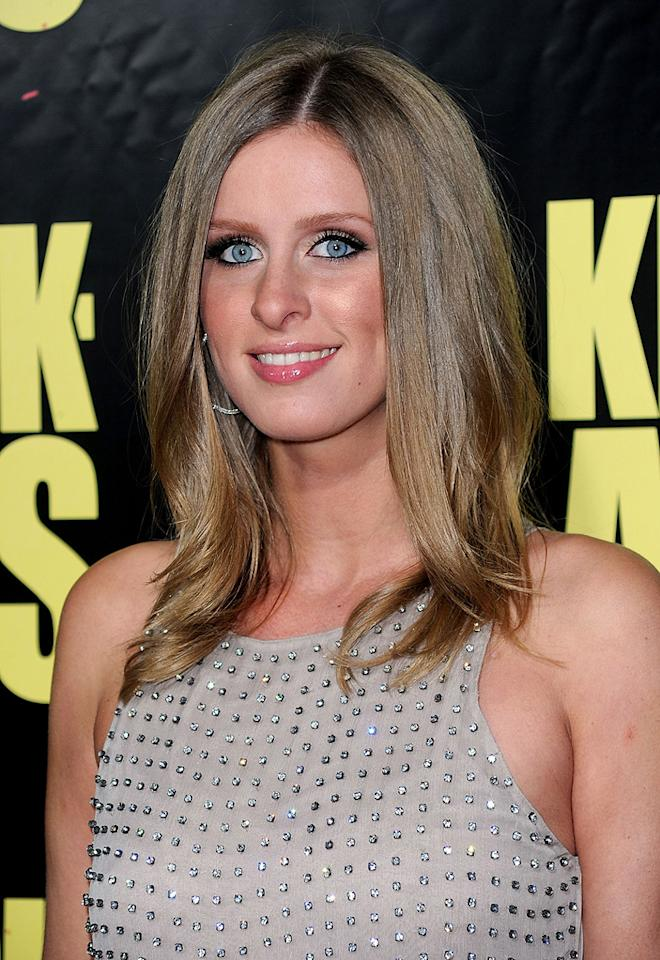 """<a href=""""http://movies.yahoo.com/movie/contributor/1804554525"""">Nicky Hilton</a> at the Los Angeles premiere of <a href=""""http://movies.yahoo.com/movie/1810063108/info"""">Kick-Ass</a> - 04/13/2010"""