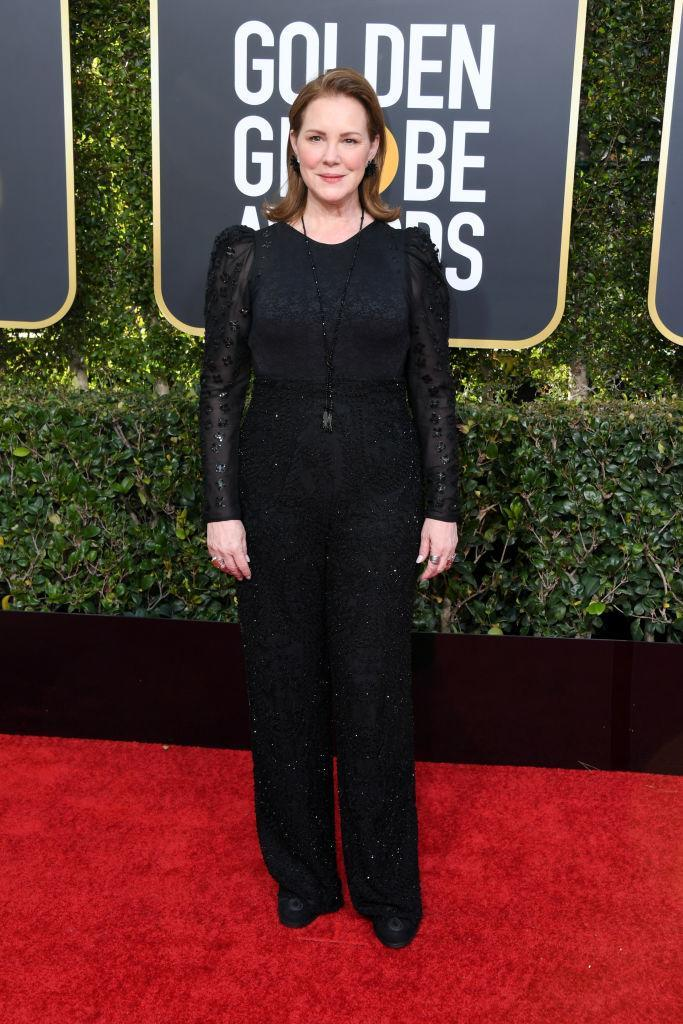 <p>Elizabeth Perkins attends the 76th Annual Golden Globe Awards at the Beverly Hilton Hotel in Beverly Hills, Calif., on Jan. 6, 2019. (Photo: Getty Images) </p>