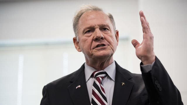 Alabama Senate GOP candidate Roy Moore appeared to use racially insensitive language to refer to Native Americans and Asian-Americans, according to footage obtained by The Hill newspaper on Monday.