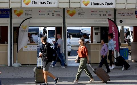 Thomas Cook - Credit:  STEFANOS RAPANIS/REUTERS