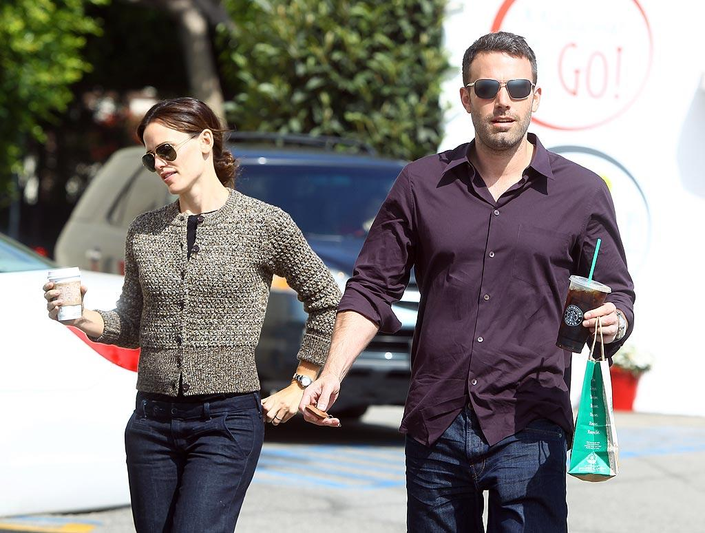 """The <i>National Enquirer</i> reports Ben Affleck and Jennifer Garner's marriage is """"hanging by a thread."""" According to the magazine, the two are leading """"increasingly separate lives"""" and """"have been drifting apart for months."""" It's gotten to the point where Garner is """"ready to give Ben a shape-up or ship-out ultimatum,"""" says the <i>Enquirer</i>. To find out how badly their marriage has disintegrated, see what a pal of the couple admits to <a href=""""http://www.gossipcop.com/ben-affleck-jennifer-garner-marriage-problems/"""" target=""""new"""">Gossip Cop</a>. <a href=""""http://www.splashnewsonline.com"""" target=""""new"""">Splash News</a> - September 17, 2010"""