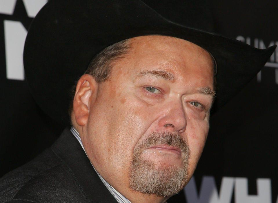 Jim Ross is done with WWE after working with the company since 1993. (Getty)
