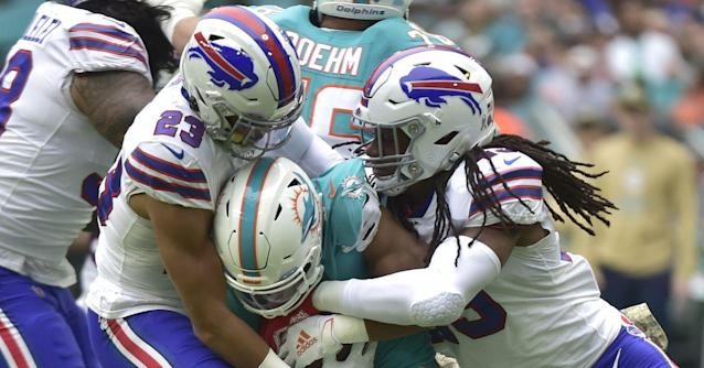 One Stat Recap: Buffalo Bills defense puts the clamps on the Miami Dolphins