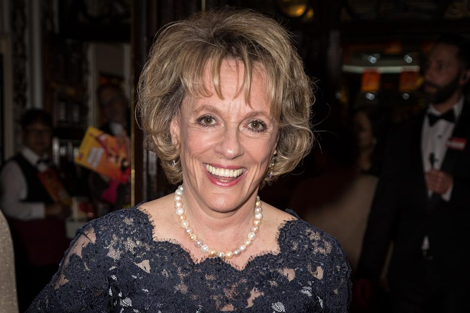 Esther Rantzen poses for photographers upon arrival at the premiere of the musical Bend It Like Beckham in London, Wednesday, June 24, 2015. (Photo by Vianney Le Caer/Invision/AP)