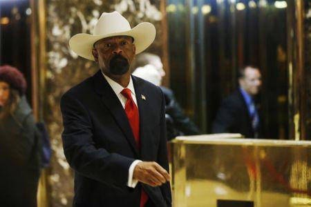 Sheriff David Clarke plagiarized portions of his master's thesis on homeland security