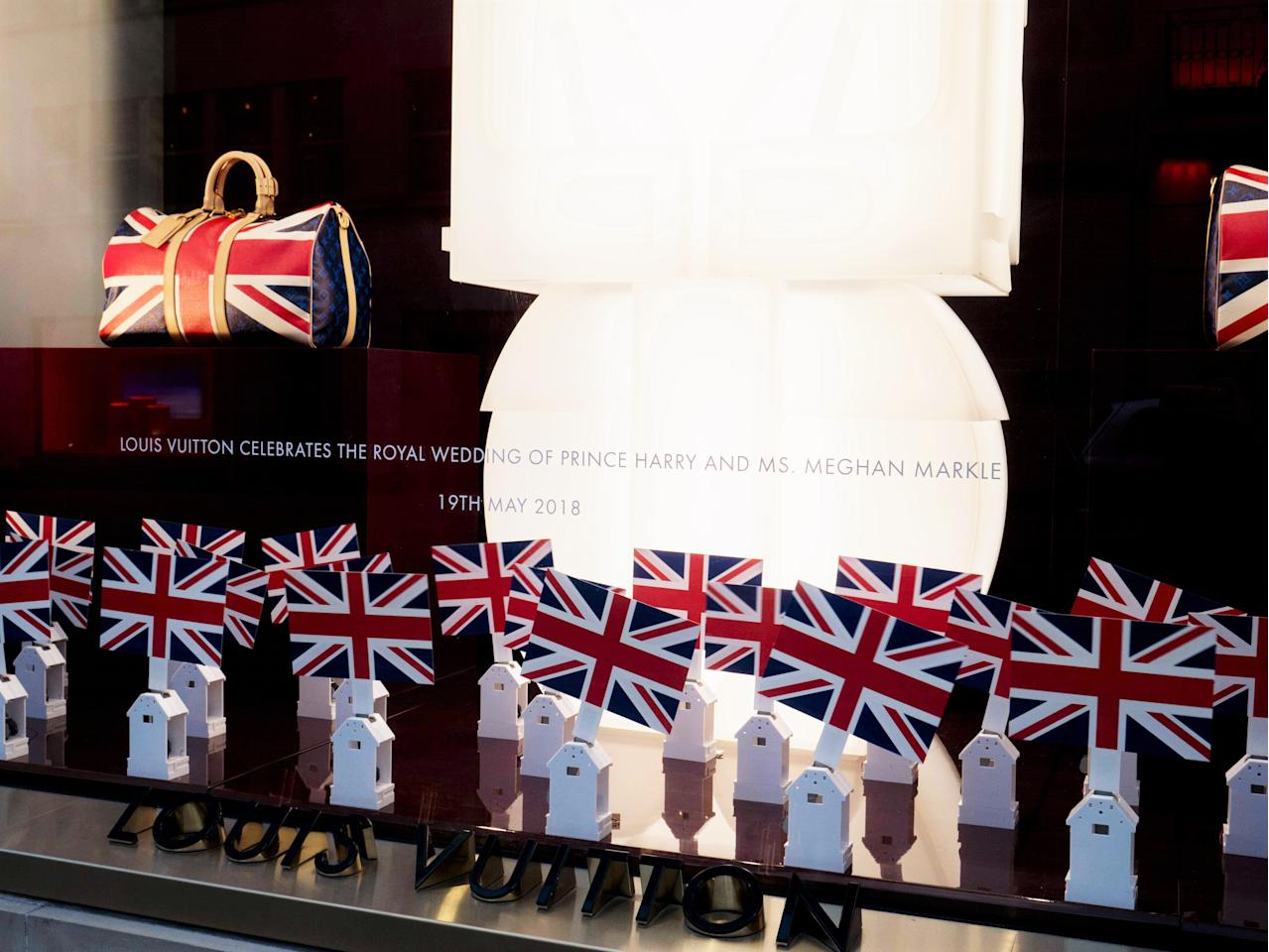 <p></p><p>Louis Vuitton has launched a limited-edition collection of bags in celebration of Prince Harry and Meghan Markle's wedding which are now available to shop from London's flagship store. </p><p></p>