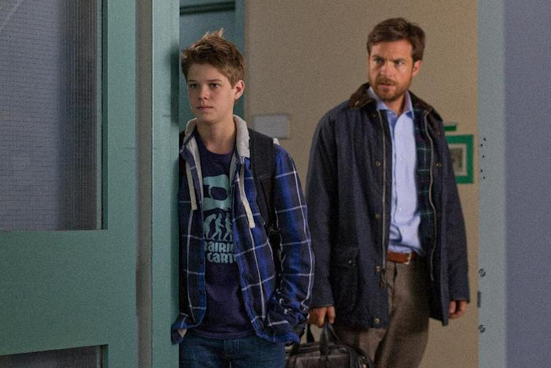"""This film image released by LD Entertainment shows Colin Ford, left, and Jason Bateman in a scene from """"Disconnect."""" (AP Photo/LD Entertainment)"""