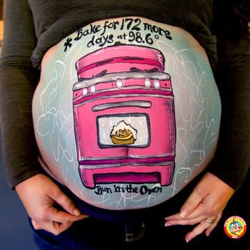 6 Decorated Baby Bumps You Should See