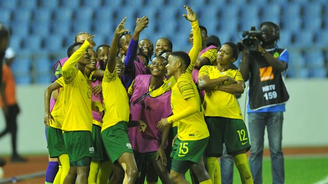 Banyana Banyana are the first African side to land in the European nation and this will be their first-ever outing in the tournament